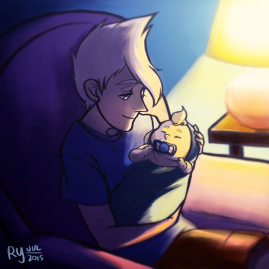 Steven Universe, sour cream meets his half brother for the first time (^O^)