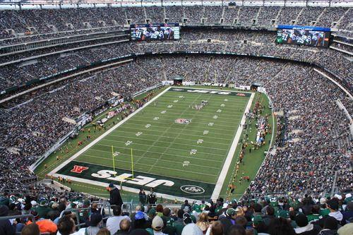 Tickets - New England Patriots at New York Jets www.tailgates2go.com
