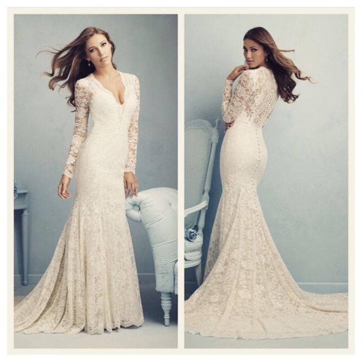 60 best Allure Bridals images on Pinterest | Short wedding gowns ...