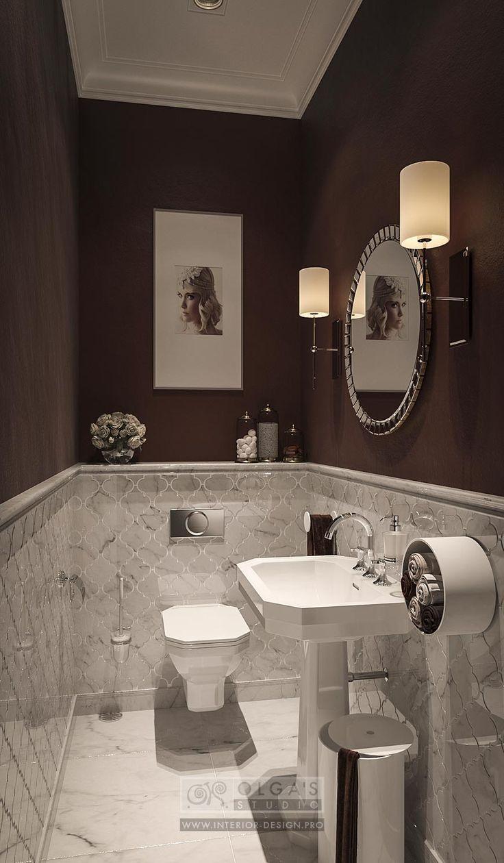 Beauty Spa Salon WC Design  http://interior-design.pro/ru/dizayn-salonov-krasoty-photo-interyerov