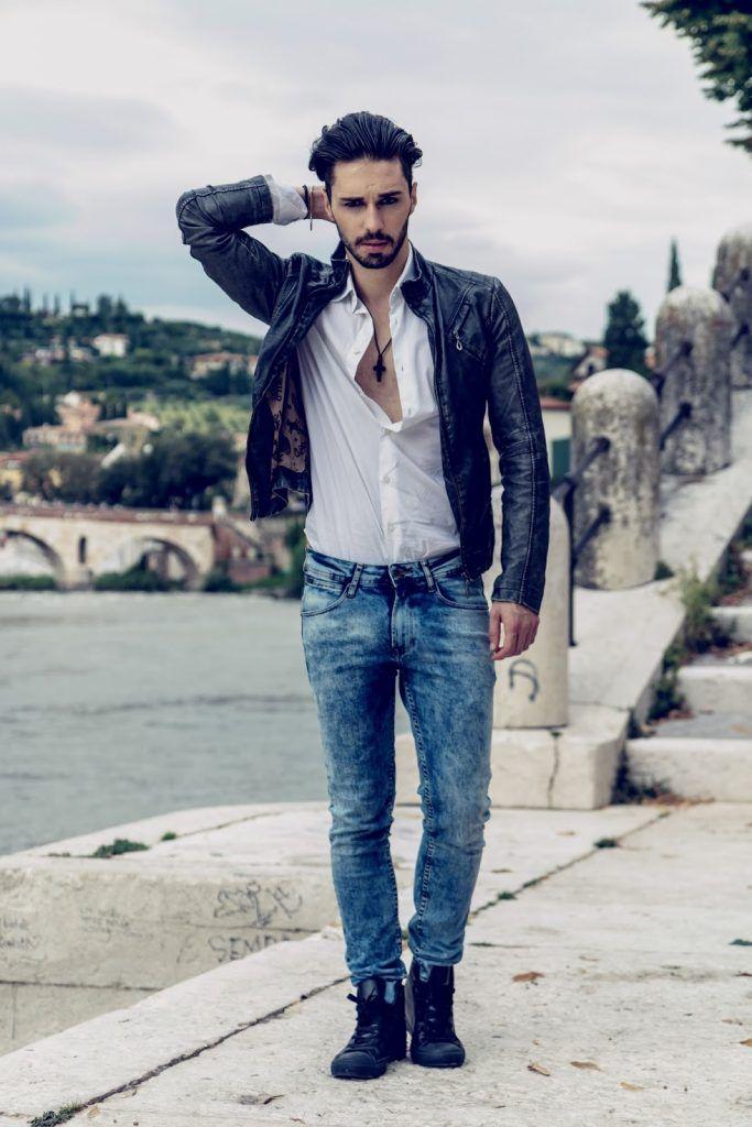 Men style ayan dorian model edgystl blog