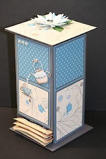 Morning Cup tea bag holder -- how cute!