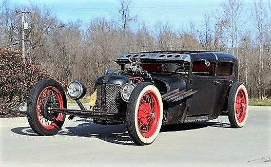 1928 Ford Model A Rat Rod.