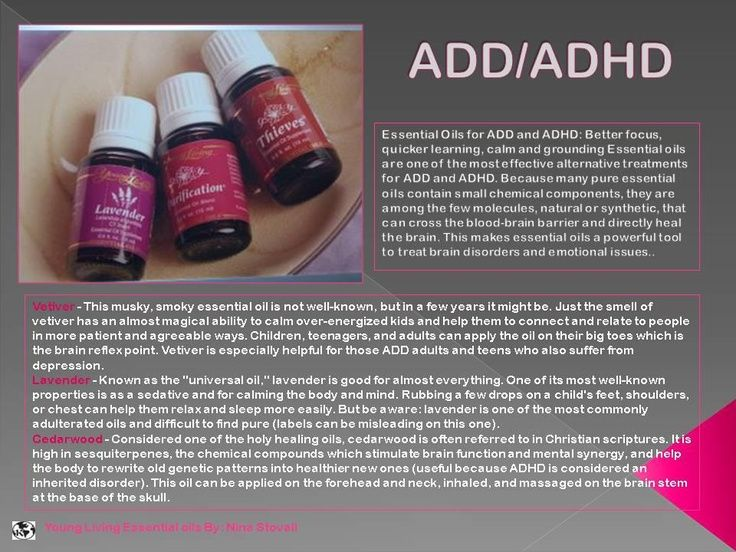 Incroyable Young Living Essential Oils: ADD ADHD