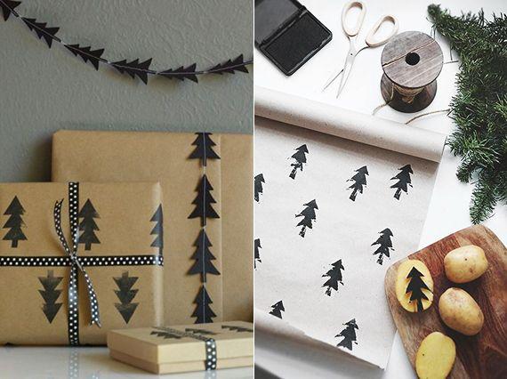 die besten 25 weihnachtsgeschenkpapier ideen auf. Black Bedroom Furniture Sets. Home Design Ideas