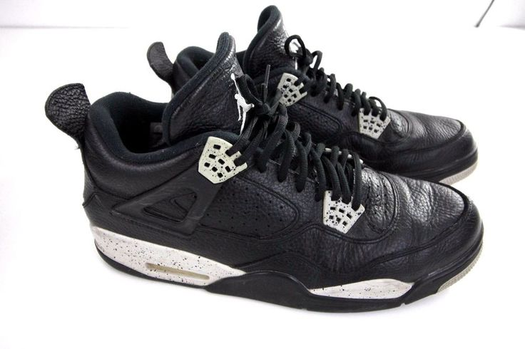 Check pictures for condition. Comes in original box. | eBay! Nike Air Jordan Retro 4 Oreos Size 13  #nike #jordans #retro #oreo #airjordan #shoes #size13 #retro4