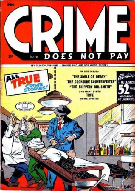 Crime does not pay-volume 07: issues 46-49 (dark hose Archives 2014)