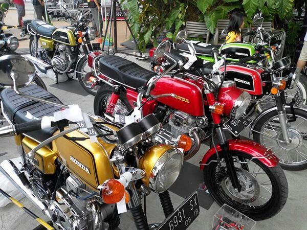 Honda twin club 6