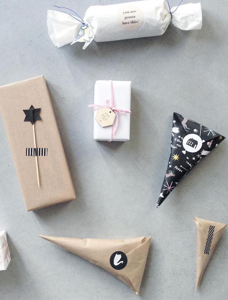 Cheap homemade Christmas gifts wrapping