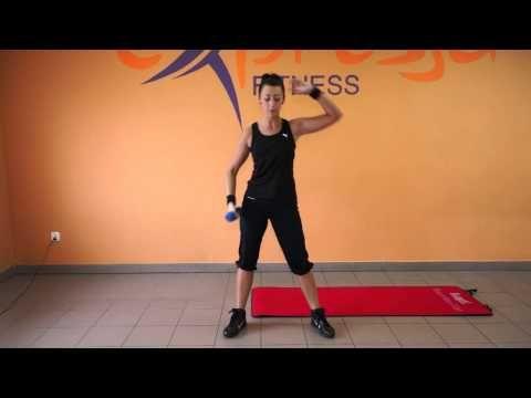 Trening na talię osy z Gabrysią - YouTube