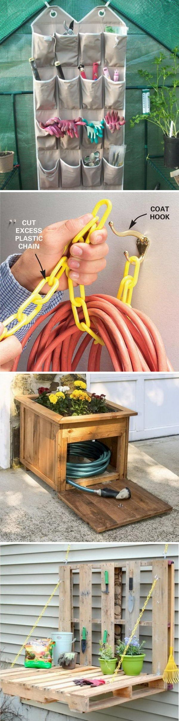 Awesome DIY Storage Ideas for Your Garden