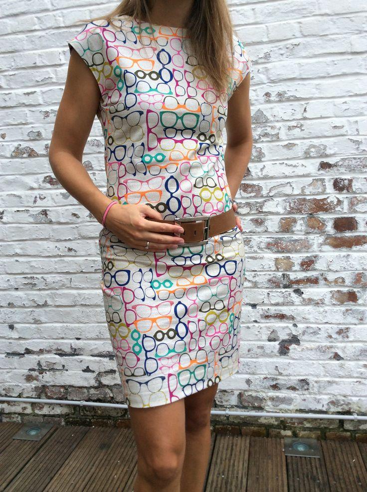 Harlequin dress by La Maison Victor. More DIY fashion inspiration: www.lamaisonvictor.com