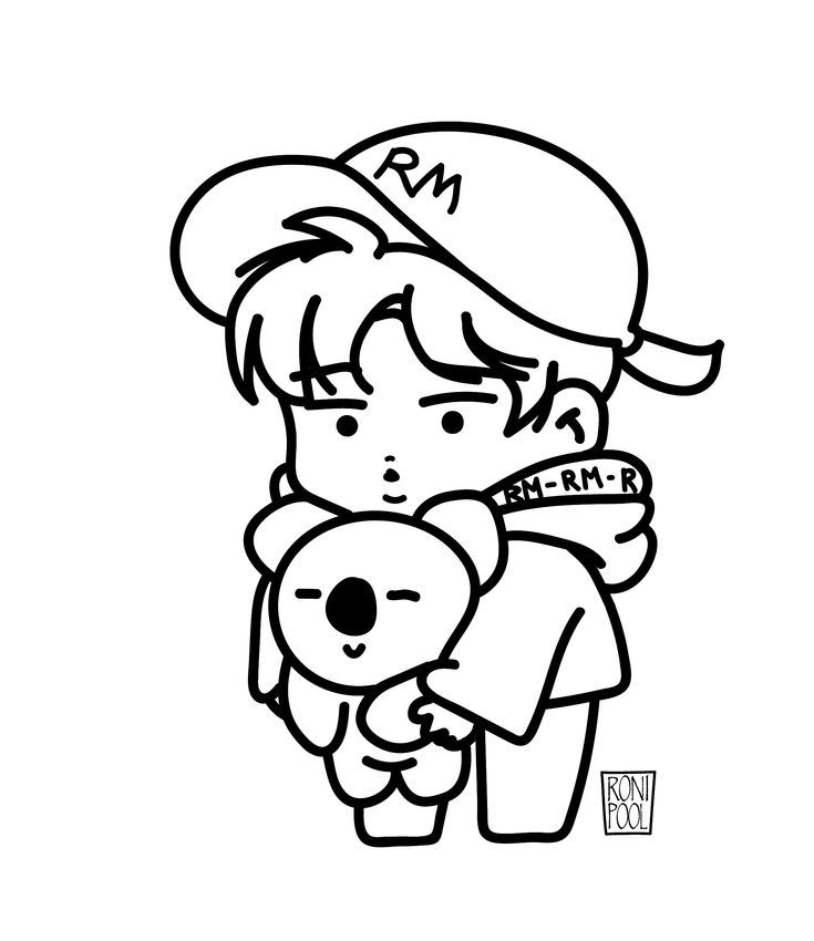 Jimin Chibi In 2020 Bts Drawings Chibi Coloring Pages Sketch Book