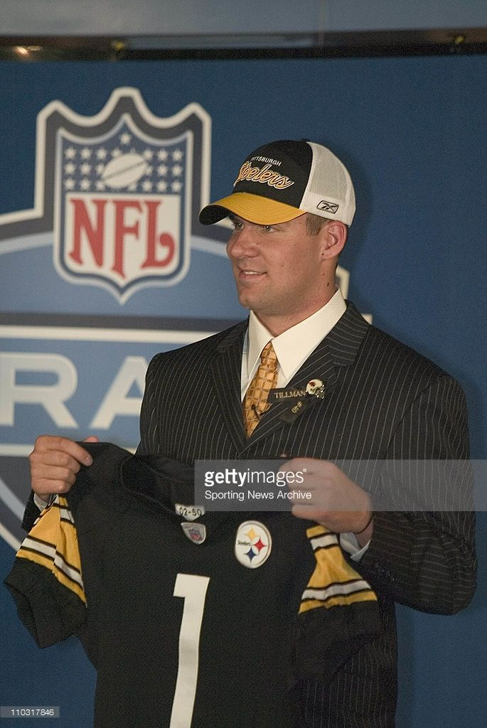 Ben Roethlisberger selected 11th overall by the Pittsburgh Steelers during the 2004 NFL Draft at Madison Square Garden in New York, NY.