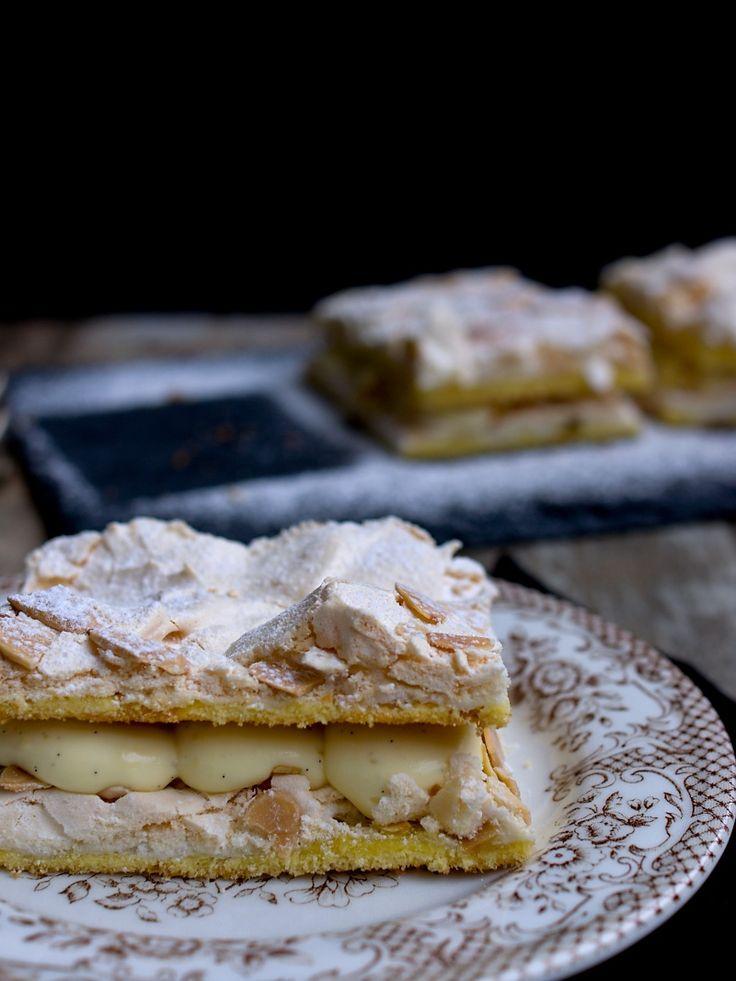Kvæfjordkake - verdens beste / Norský žloutkový dezert