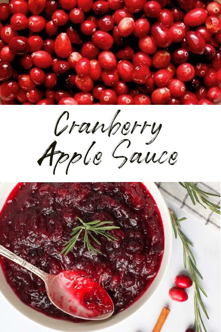 Cranberry Sauce With Orange Juice Recipe Best Cranberry Sauce Cranberry Sauce Recipe Applesauce