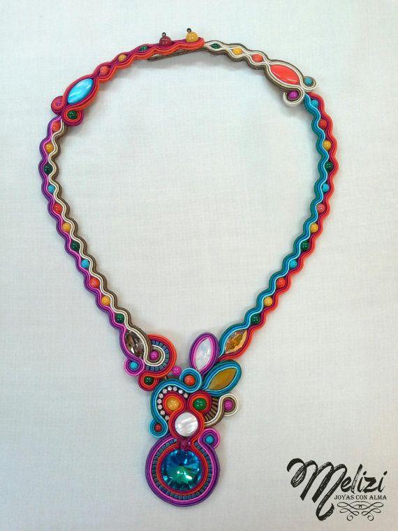 collar CONFETTI por Melizi en Etsy, €139.50