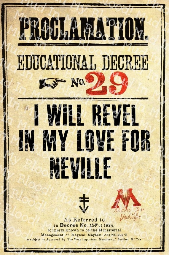 """This says it all - I cry every time I read the Harry Potter and the Philospher's Stone and at the end Neville gets points from Dumbeldore as """"It is harder to stand up to your friends than to your enemies."""""""