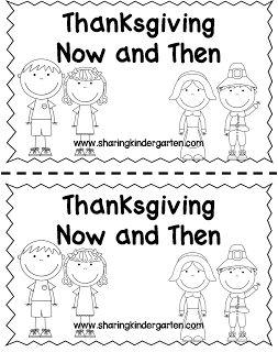 http://www.teacherspayteachers.com/Product/Then-and-Now-Thanksgiving-Reader-968622