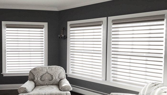 Dr. Shade Design of the Month:  Hunter Douglas pirouette shades