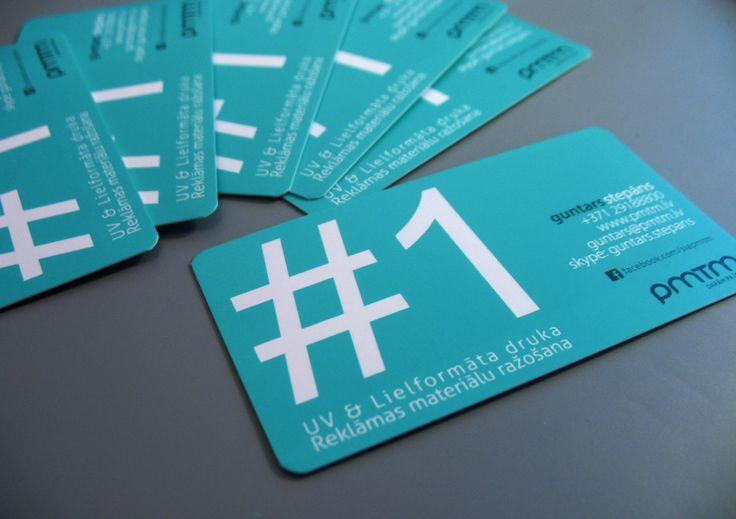 Half-round angle business card #1. Marine blue color / Noapaļotie stūrīši numurs 1 vizītkartei. Другой вариант с закругленными краями. Аквамарин