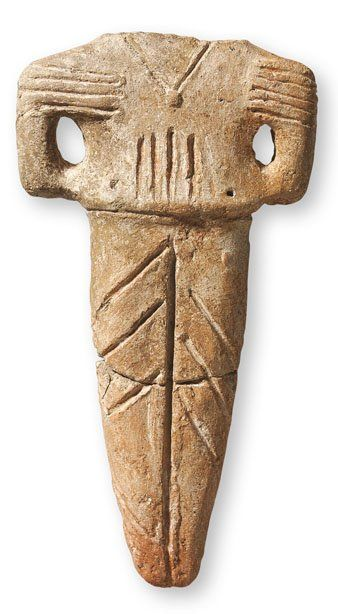 Macedońska figurka antropomorficzna (Późny #neolit) #Archeologia #Macedonia #PMA #Muzeum #Museum #Arsenał #Warszawa #Warsaw #State #Archaeological #Museum
