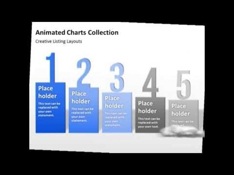 Animated Charts Collection - Bring more dynamics into your PowerPoint presentation and use these professionally animated charts and graphics.