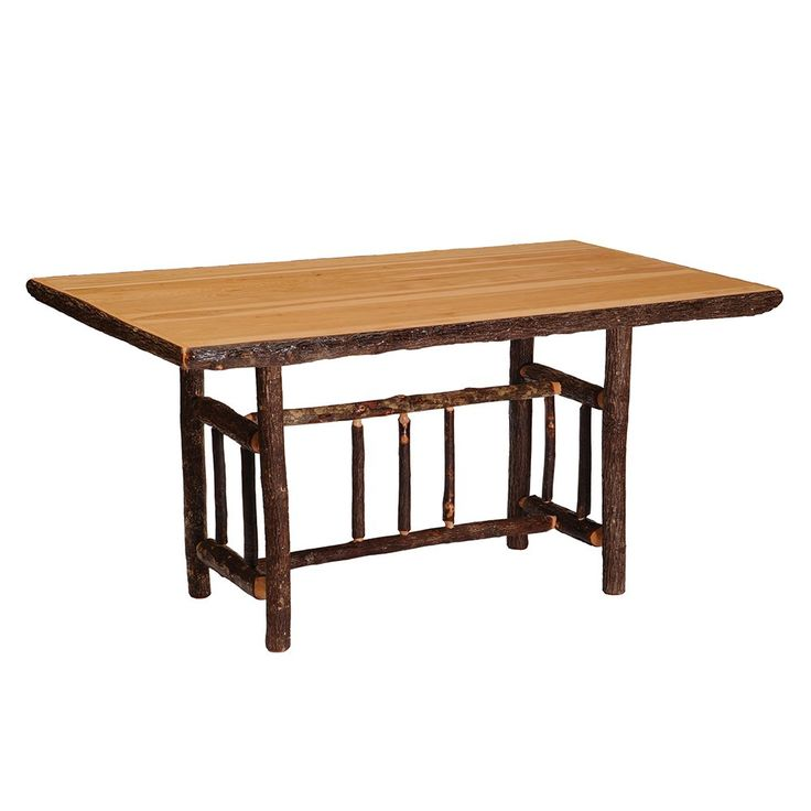 Shop Fireside Lodge Furniture  851 Hickory Rectangular Dining Table at ATG Stores. Browse our dining tables, all with free shipping and best price guaranteed.