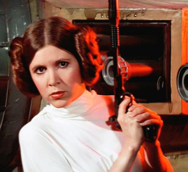 Create these four famous Princess Leia hairstyles from the original Star Wars trilogy, including the famous Princess Leia buns, Hoth braids, Cloud City style, and Slave Leia hair.