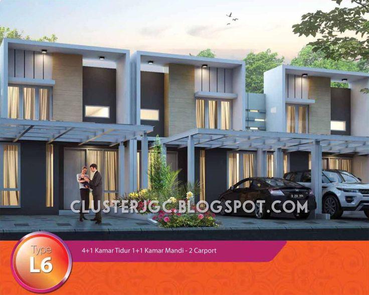 Rumah Cluster Yarra Tipe Mezzanine #JakartaGardenCity #clusterYarra