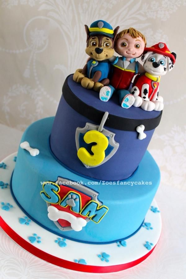 Paw Patrol  - Cake by Zoe's Fancy Cakes