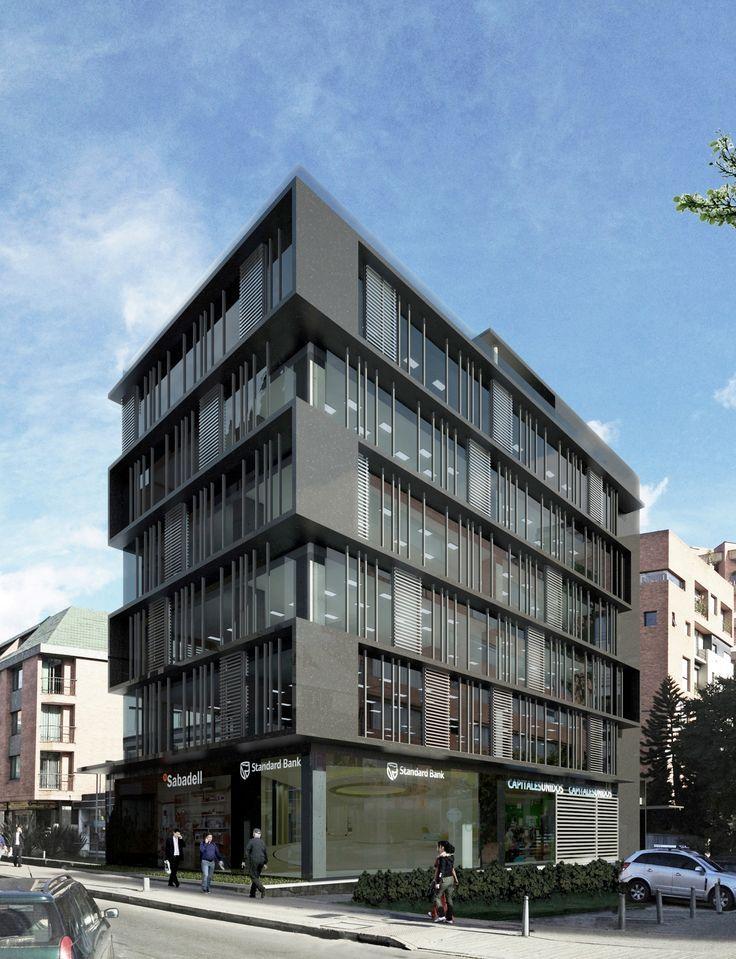 Best 385 buildings images on pinterest architecture - Fachadas edificios modernos ...