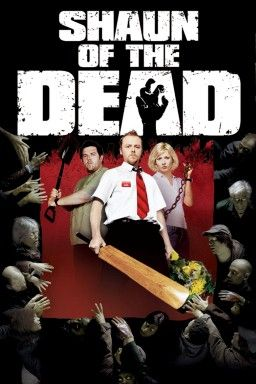 """""""Shaun of the Dead"""" - A man decides to turn his moribund life around by winning back his ex-girlfriend, reconciling his relationship with his mother, and dealing with an entire community that has returned from the dead to eat the living. A funny movie with lots of dry humor but not as big of a deal as I think gets made of it. Info and image credit: IMDb."""