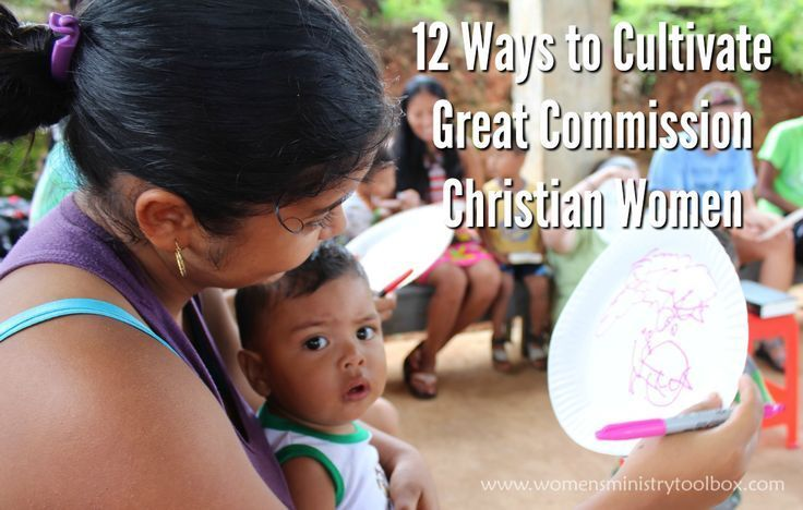Great Commission Christian Women - From Women's Ministry Toolbox