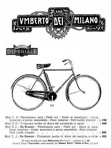 Catalogo anno 1940