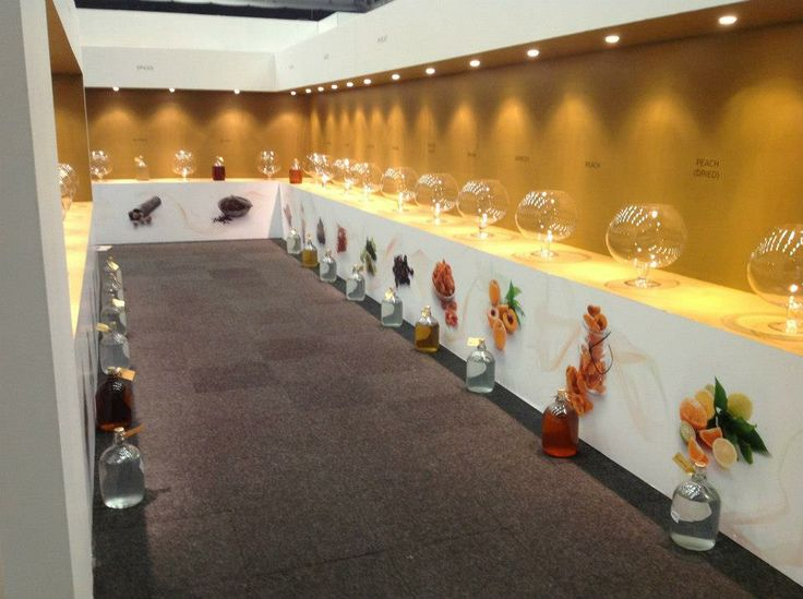 Our stunning stand for Fine Brandy Fusion 2013 by Greencherry Interiors http://greencherrylife.com/