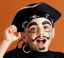 Faire un maquillage de pirate pour Halloween