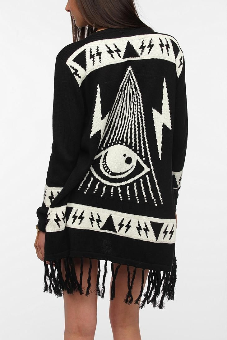 UNIF Psychic Poncho #mystical #urbanoutfitters