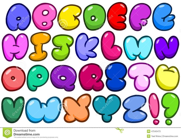 letra burbujas - Buscar con Google