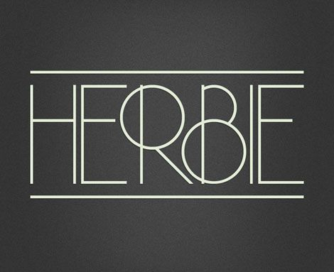 Meet Herbie, the latest display font from Morten Iveland at the Infamous Foundry. As the name might indicate, Herbie is inspired by Herb Lubalin's work and the decorative style and kerning of his era.