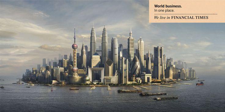 Une représentation synthétique de la ville mondiale   Langlois