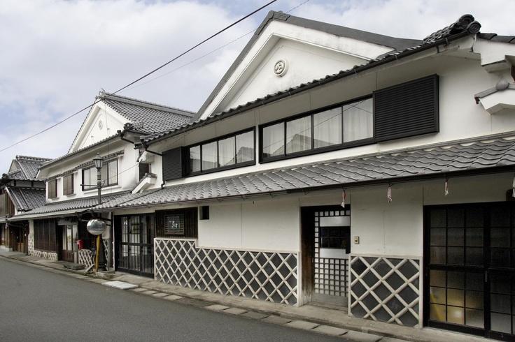 うきは市・吉井の町並み  Yoshii town