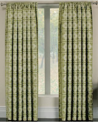 8 Pottery Barn Inspired DIY Projects We Love Rod Pocket CurtainsPanel CurtainsCurtain PanelsCurtains LowesDining Room CurtainsGreen