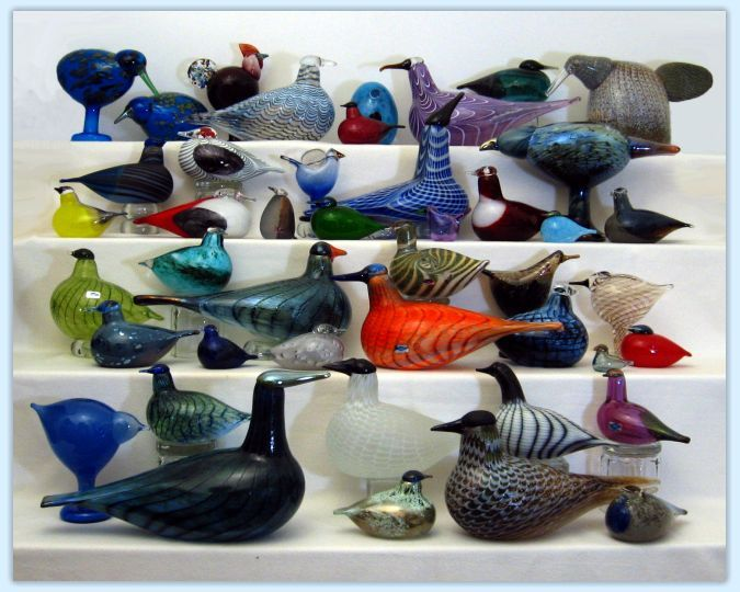 Toikka Glass Birds / The Bridges - Nichols Collection / Birds By Toikka
