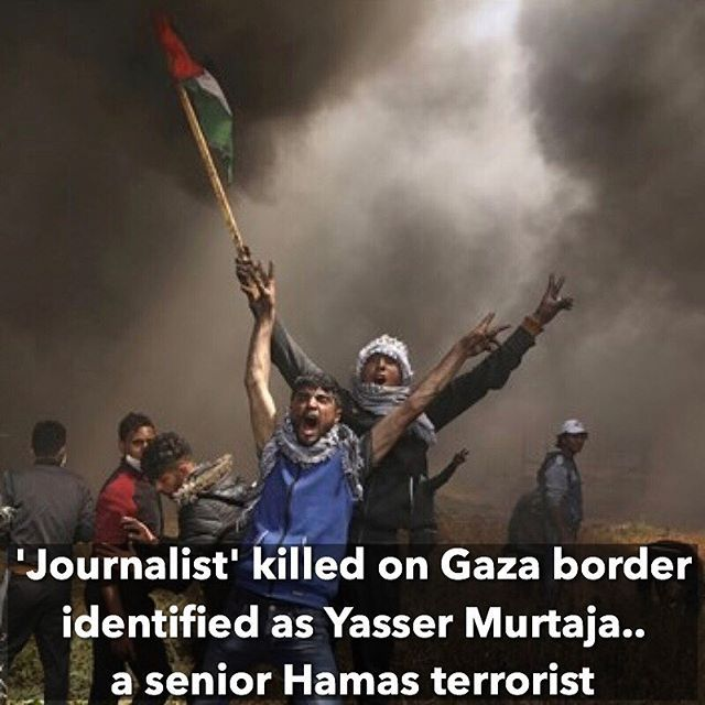 🇮🇱Despite media claims that Israeli forces killed a journalist during violent Palestinian Arab protests on Friday, an investigation has debunked this lie. The now deceased 'Arab journalist' is none other than 30-year-old Yasser Murtaja, a senior Hamas officer. Hamas has been known to use journalist clothing and fake credentials along with ambulances and terrorists disguised as first responders to carry out terrorist attacks. 🇨🇴 A pesar de las declaraciones de los medios de que las…