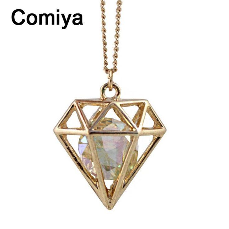 Moda comiya diseñado rhinestone collar pendiente de la vendimia collares mujeres accesorios de decoración de cristal de sailor moon