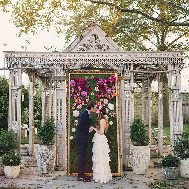 Ribbon Wedding Altar: 54 Best Bud Vases Images On Pinterest