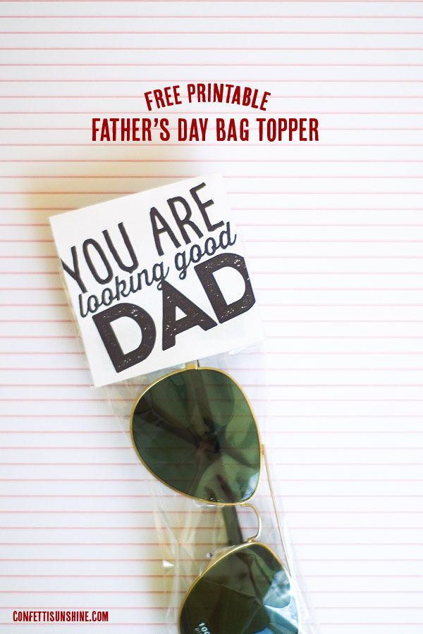Father's Day Gift Idea with FREE Printable from @Confetti Sunshine