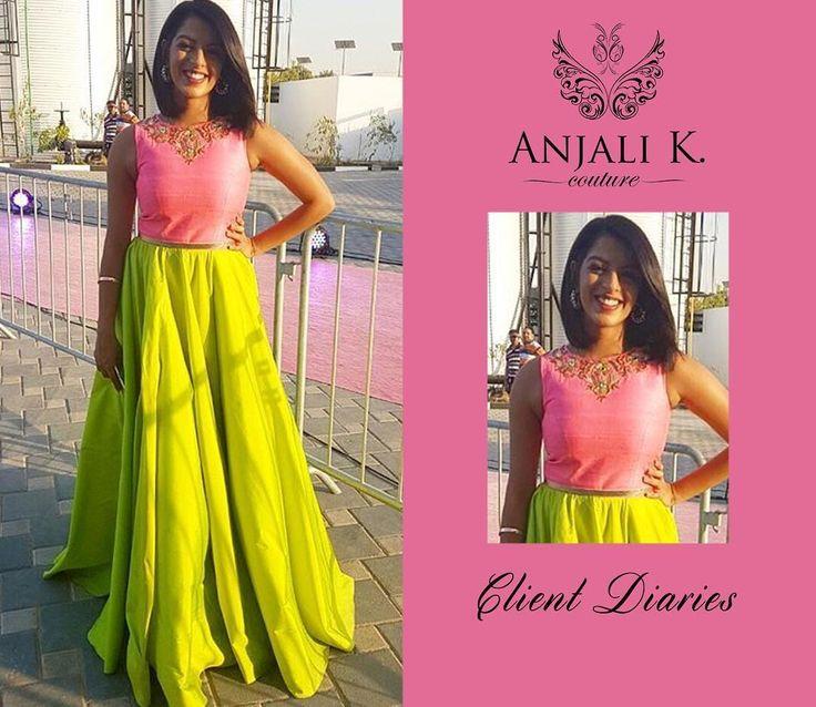 Dubai based Indian Couture Wear by Anjali Khushalani (@anjalidk) | Add: Al Hudaiba Awards Complex, C Block #308, Jumeirah, Dubai | ☎️:+97143888938