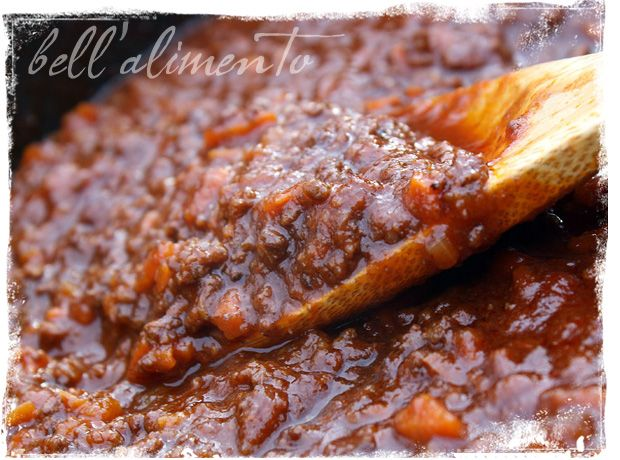 Bolognese Sauce! The perfect sauce to simmer away on a Saturday or Sunday.